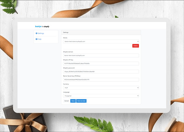 shopify application