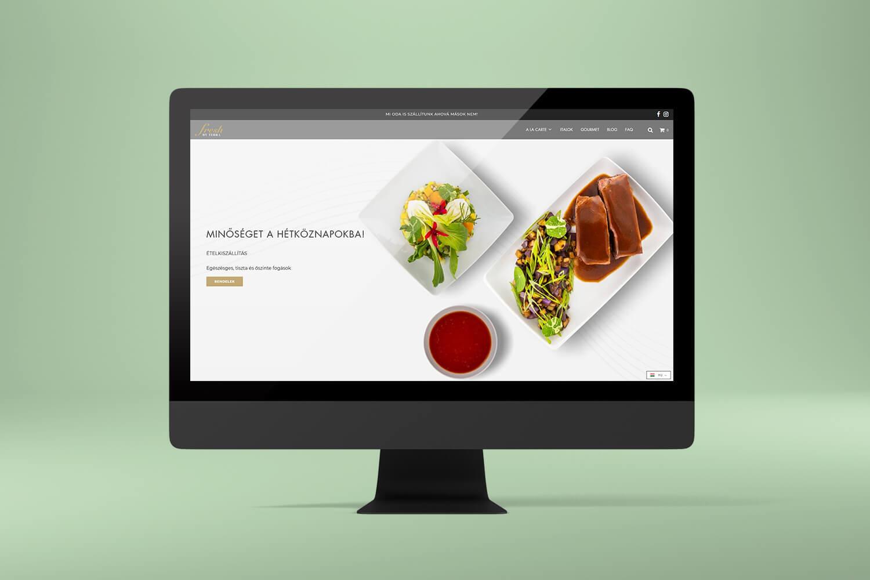 fresh by terra shopify webáruház