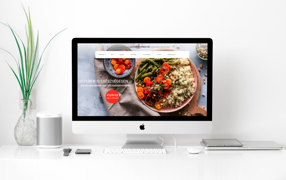 gourmania shopify webaruhaz