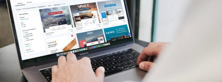 Webáruház cseréje