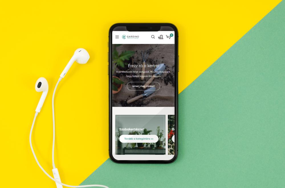 gardino shopify webshop