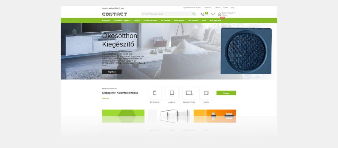 contact shopify webáruház
