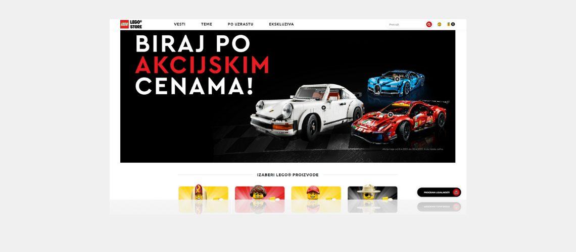 lego shopify plus webáruház