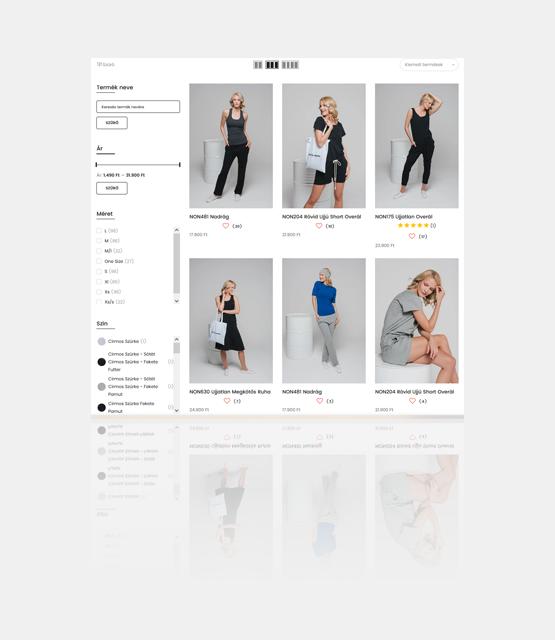 nonplusz shopify webáruház