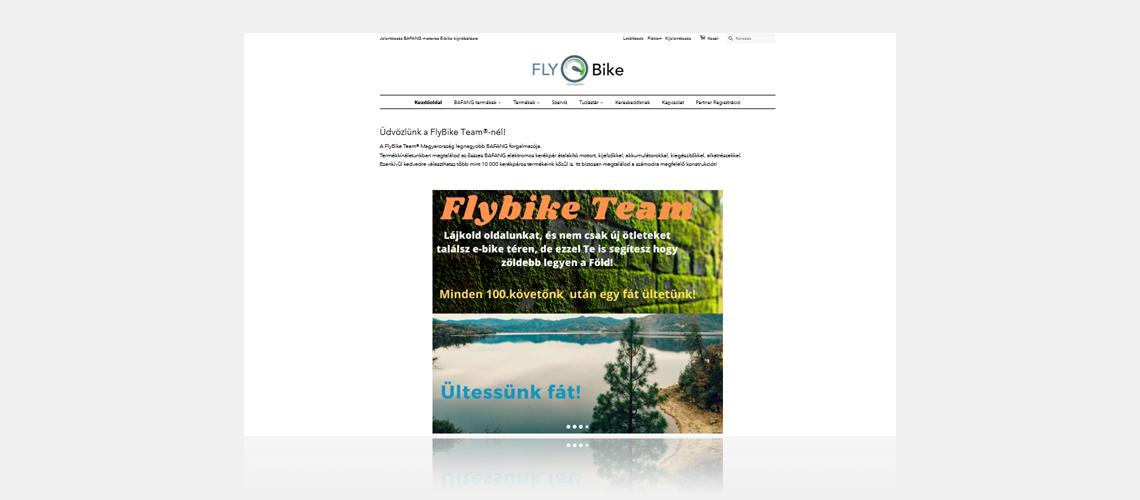 flybike shopify online store